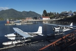 Floatplanes are often used in Tofino on Vancouver Island for flightseeing and fishing tours.