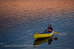 Photo: Tourist Canoeing Lake Audy Riding Mountain National Park