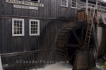 Photo: Water Wheel Sherbrooke Musuem Nova Scotia