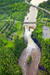 Photo: Kaministiquia River Waterfall Aerial Ontario