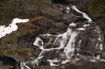 Photo: Waterfall Aerial Mealy Mountains Labrador