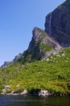 Photo: Western Brook Pond Waterfall Newfoundland Canada