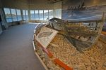 An ancient boat known as a Chalupa was used for whaling in past years and now is on display at a Red Bay National Historic Site in Southern Labrador, Canada.