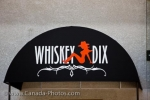 Photo: Whiskey Dix Club Sign Winnipeg City Manitoba