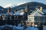 The town of Whistler in British Columbia, Canada is a popular tourist destination all year round.