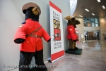 Photo: Wildlife Mascots RCMP Heritage Centre Regina Saskatchewan