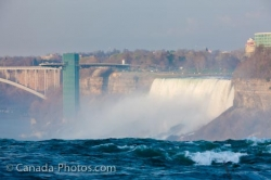 American Falls New York State View From Canada