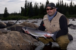 Atlantic Salmon Fly Fishing Picture
