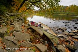 Autumn Oxtongue River Scenery Picture