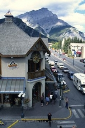 Banff Nationalpark Mainstreet