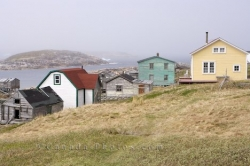 Battle Harbour Waterfront Houses Southern Labrador