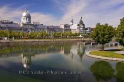 Bonsecours Basin Waterfront Montreal Quebec Canada