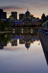 Bonsecours Market Reflections Montreal Quebec