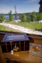 Brandy Cigar Box Fishing Lodge Southern Labrador