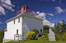 Burntcoat Head Lighthouse Nova Scotia