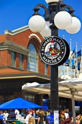 Lamp Post Byward Market Sign