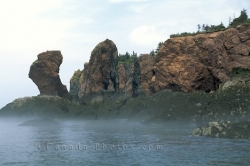 Cape Chignecto Three Sisters