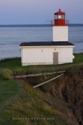 Cape D Or Lighthouse Coastal Sunset Bay Of Fundy Nova Scotia