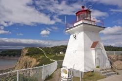 Cape Enrage Lighthouse Albert New Brunswick