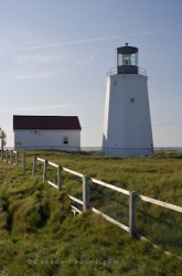 Cape St Marys Lighthouse Building Avalon Peninsula Newfoundland