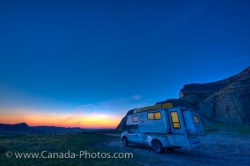 Castle Butte Camping Big Muddy Badlands Saskatchewan