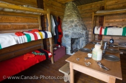Saskatchewan Fur Trading Living Quarters Last Mountain House Provincial Park