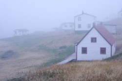 Battle Harbour Buildings Southern Labrador