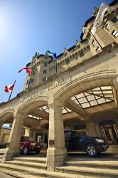 Fairmont Chateau Laurier Hotel Entrance