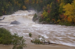 Chippewa Falls Autumn Flood Chippewa River Ontario