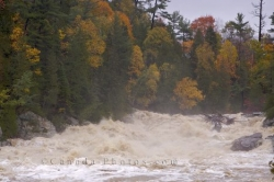 Chippewa River Storm Flood Ontario Canada