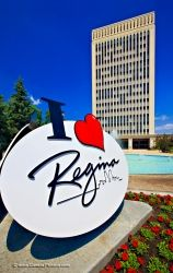 City Hall Regina Sign