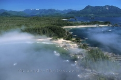 Clayoquot Sound Aerial Vancouver Island