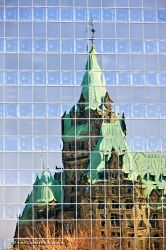 Confederation Building Reflections Ottawa City Ontario