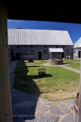 Courtyard Well Historic Site Nova Scotia Canada
