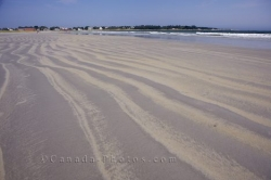 Crescent Beach Sand Patterns Nova Scotia