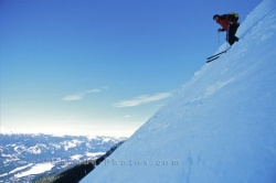 Downhill Skiing Whistler