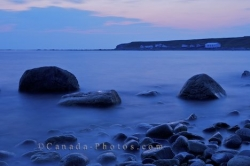 Evening Sunset Green Point Newfoundland Canada