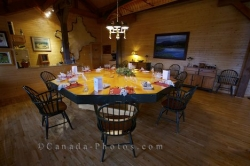 Fine Dining Rifflin Hitch Lodge