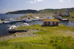 Fishing Town Brigus Admirals Coast Scenic Route Newfoundland