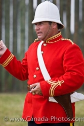 Fort Walsh Costumed Interpreter Saskatchewan Canada