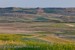 Frenchman River Valley Landscape Grasslands National Park Saskatchewan