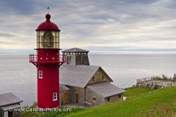 Gaspesie Peninsula Lighthouse Point A La Renommee