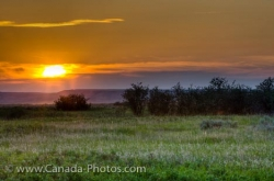 West Block Grasslands National Park Sunset Saskatchewan
