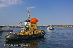 Halifax Harbour Theodore Tugboat Nova Scotia
