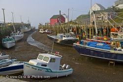 Fishing Boats Halls Harbour Nova Scotia