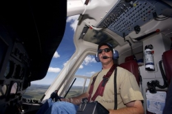 Helicopter Pilot Picture Southern Labrador Canada