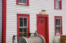 Historic Building Exterior Woody Point Newfoundland