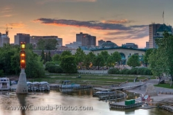 Historic Forks City Winnipeg Manitoba