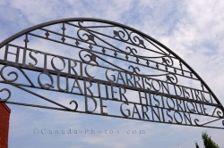 Historic Garrison District Sign New Brunswick