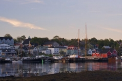 Historic Lunenburg Harbour Nova Scotia